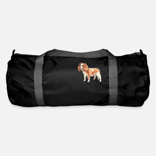 Dog Owner Bags & Backpacks - Cavalier King Charles Spaniel - Duffle Bag black