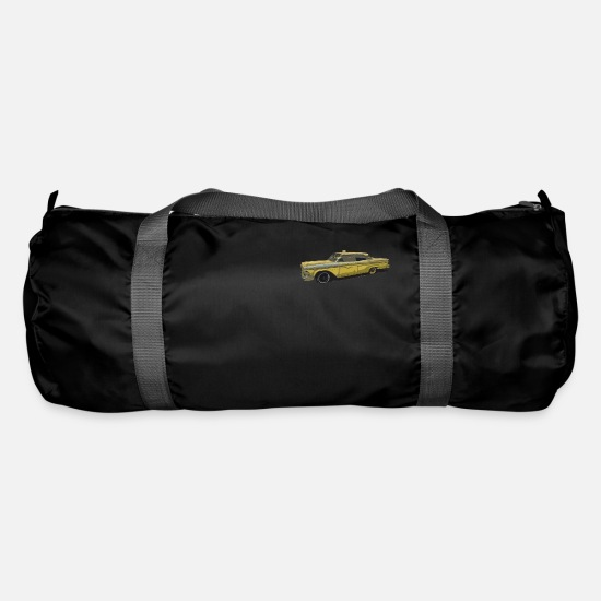 Taxi Driver Bags & Backpacks - Oldtimer taxi - Duffle Bag black