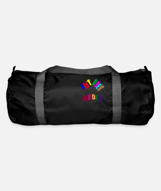Reaction Bags & Backpacks - Either or neither - Duffle Bag black