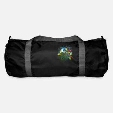 Die Colorful bird - Duffle Bag