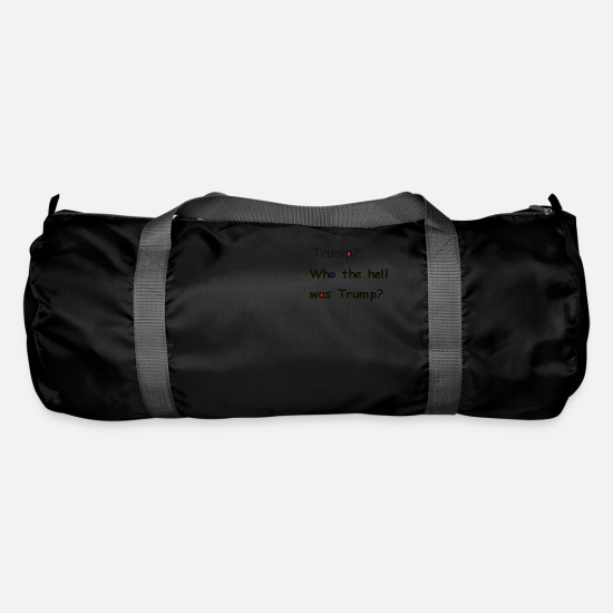 Usa Bags & Backpacks - Who the hell - Duffle Bag black