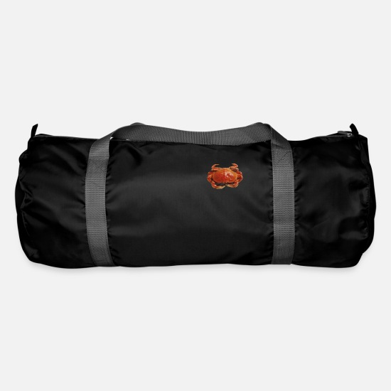 Red Bags & Backpacks - Red crab - Duffle Bag black