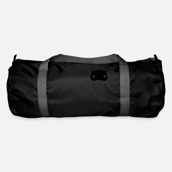 Blackjack Bags & Backpacks - Black owl - Duffle Bag black