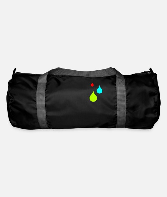 Water Bags & Backpacks - drops - Duffle Bag black