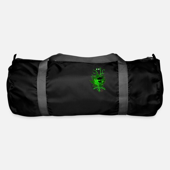 Psytrance Bags & Backpacks - Psytrance, GoA, Shroom - Duffle Bag black