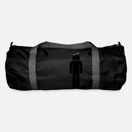 Gift Idea Bags & Backpacks - Only movies in the head Cineast Cinema movie fan - Duffle Bag black