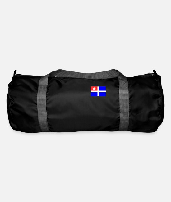 Greece Bags & Backpacks - Cretan flag - Duffle Bag black
