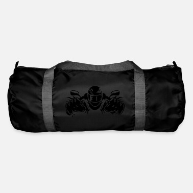 Motorcycle ride a motorcycle - Duffle Bag