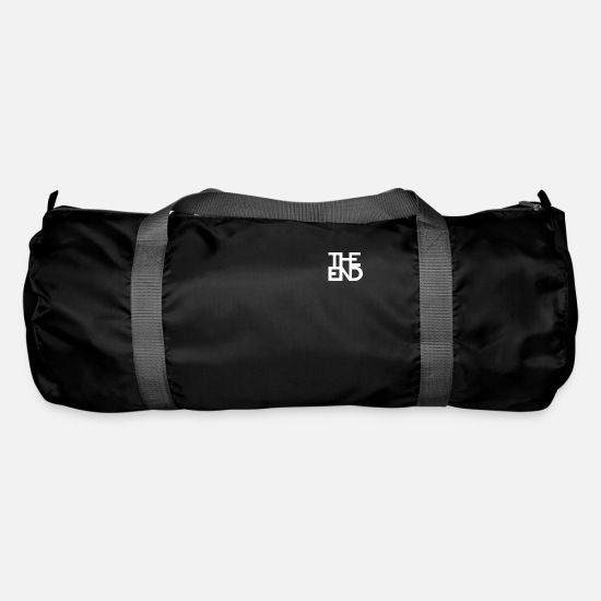 Apocalypse Bags & Backpacks - TheEndLogo end white - Duffle Bag black
