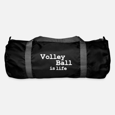 Beachvolleyball volleyball is life - Borsa sportiva