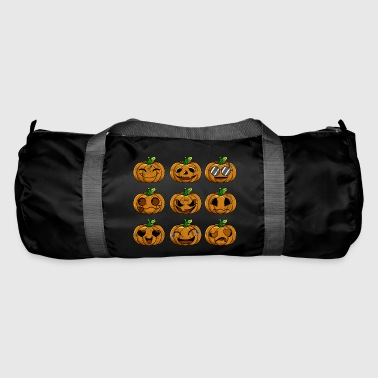 Emotion Halloween Pumpkin Emotions Retro - Sportsbag
