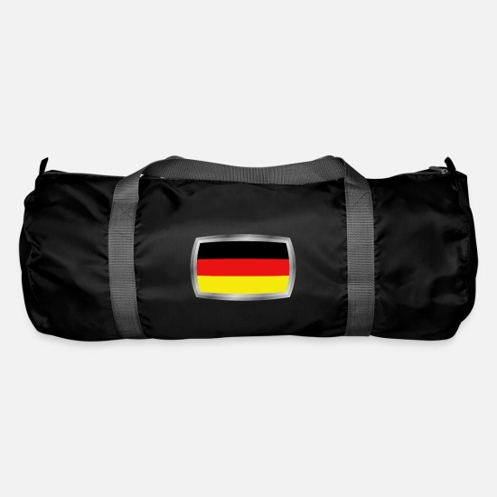 National Bags & Backpacks - flag of Germany - Duffle Bag black