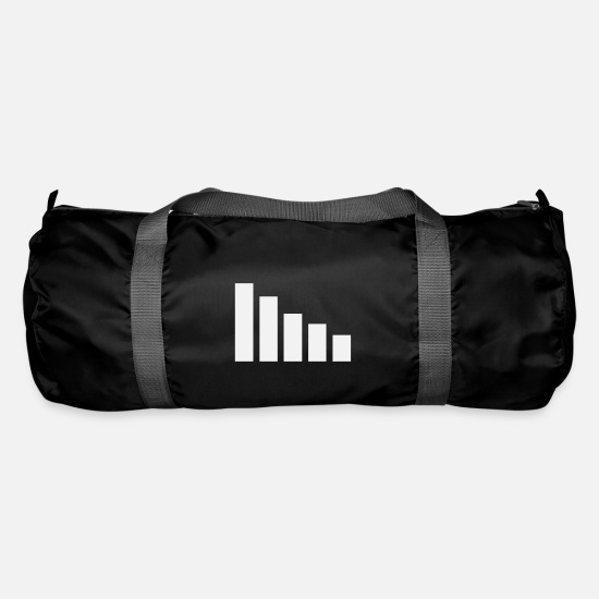 Power Bags & Backpacks - cell signal - Duffle Bag black