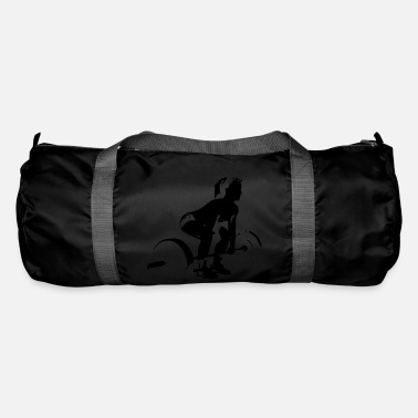 Lifting girl - Duffle Bag