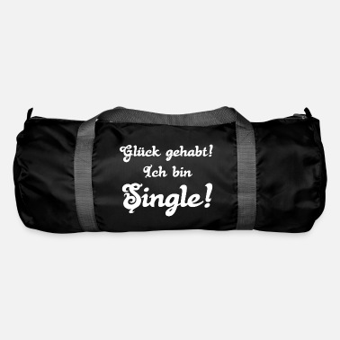 Single singles singles ICH BIN SINGLE singles - Sporttasche