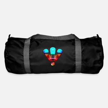 3 colorful exclamation marks - Duffle Bag
