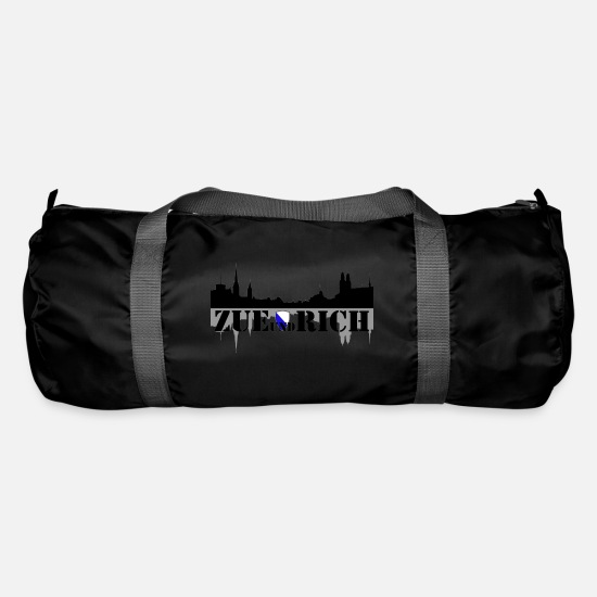 Travel Bags & Backpacks - zue and rich - Duffle Bag black