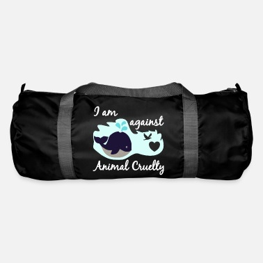 Nature Conservation Animal welfare animal cruelty whale fish conservation - Duffle Bag