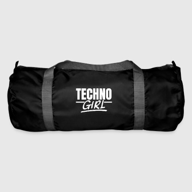 Techno fille techno raves raver fille afterhour - Sac de sport