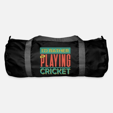 Cricket Cricket cricketer cricket club gift - Duffel Bag