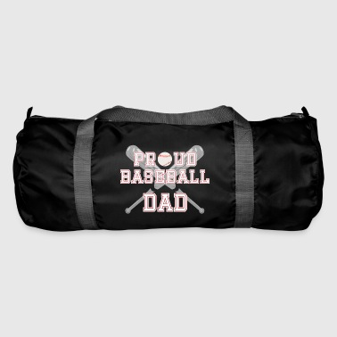 Sport Proud baseball dad sports baseball bat - Duffel Bag