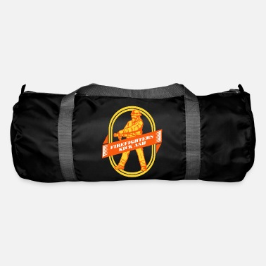 Fire Fire extinguishing fire extinguishing fire extinguishing gift - Duffle Bag
