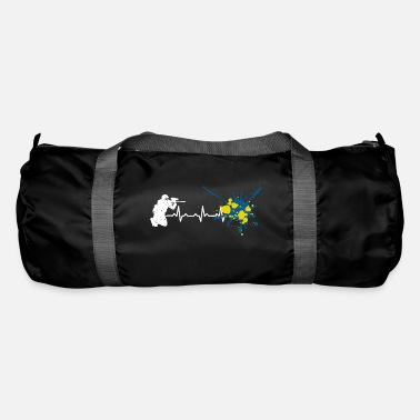 Heartbeat Paint Gun Heart Rate - Duffle Bag