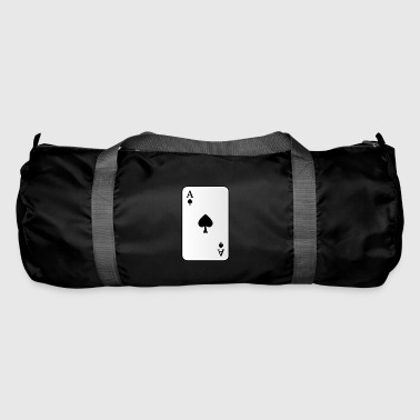Ace-of-spades Ace of spades playing card - Duffel Bag