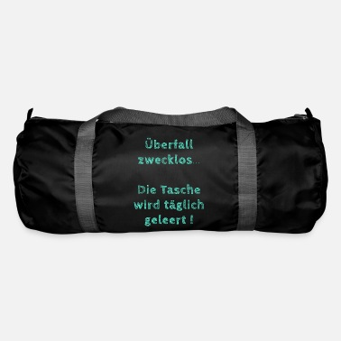Funny Gym funny saying tote bag gym bag gift - Duffel Bag