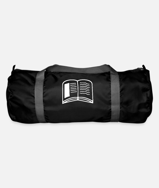 Bookworm Bags & Backpacks - book - Duffle Bag black