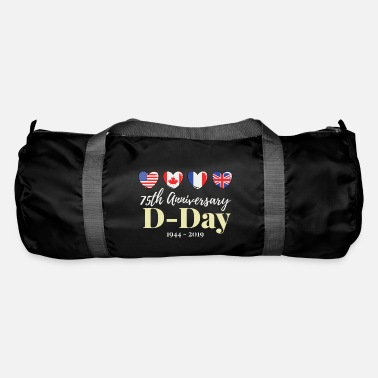 World War Ii 75 years D Day anniversary WWII World War II alliance - Duffle Bag