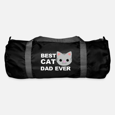 Fathers Day Best Cats Father Fathers Day - Duffle Bag
