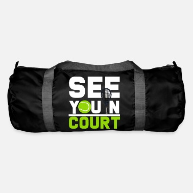 Court tennis court - Duffle Bag