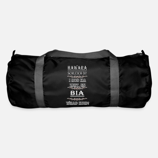 Gift Idea Bags & Backpacks - Hawara Schleich Tues! .... / dialect - Duffle Bag black