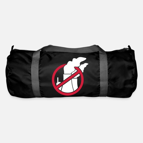 Danger Bags & Backpacks - Nuclear power - not with us! - Duffle Bag black