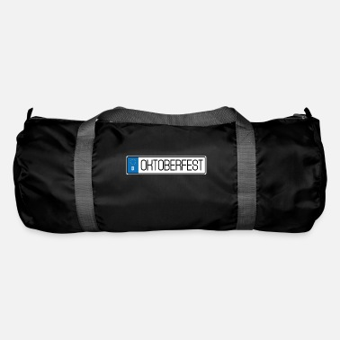 License Plate Oktoberfest license plate - Duffle Bag