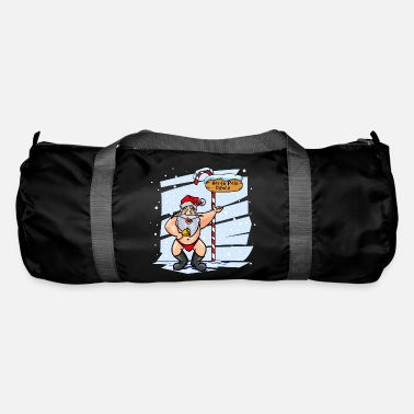 Long Underwear Sweet Santa Claus North Pole Christmas Xmas - Duffle Bag