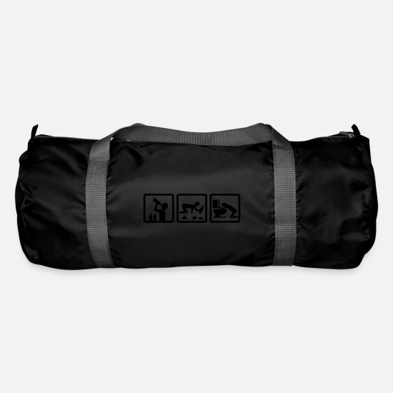 Cool Bags & Backpacks - alcohol v2 - Duffle Bag black