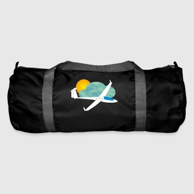 Glider gift thermal glide pilot - Duffel Bag