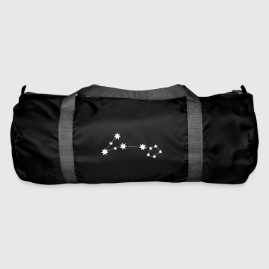 Pisces star sign constellation night - Duffel Bag