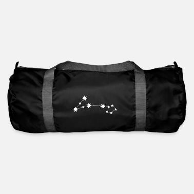 Constellation Pisces star sign constellation night - Duffel Bag