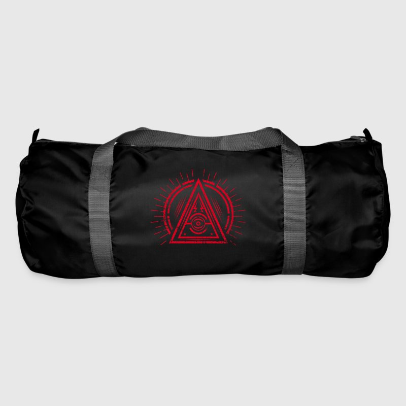 Illuminati - All Seeing Eye - Satan / Black Symbol - Sac de sport