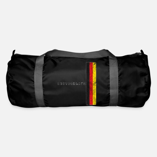 National Team Bags & Backpacks - Soccer Germany Germany Flag - Duffle Bag black