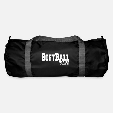 Softball softball is life - Sporttas