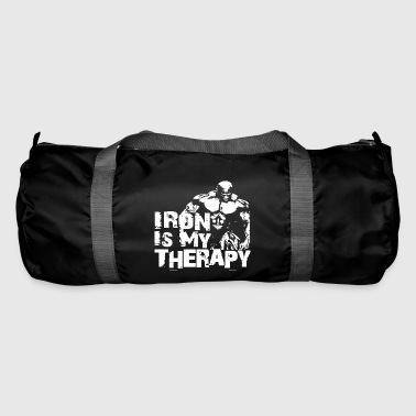 Iron is my therapy - Sac de sport