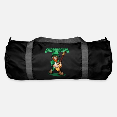 Eguitar Shamrockin - Rocking Leprechaun With EGuitar - Duffle Bag