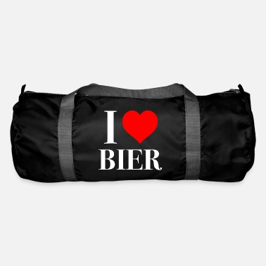 Beerathlon I love beer Weiss - Duffle Bag
