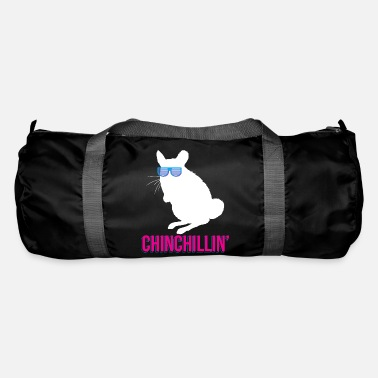 Acorn Cool Chinchilla Chinchillin Rodent Animal Gift - Duffle Bag