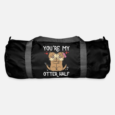 Otter You're My Otter Half Valentine's Day Animal Lover - Duffle Bag