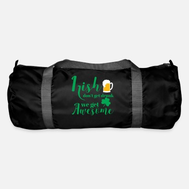 Day St Patricks Day - Irish - Beer - Funny - Gift - Duffle Bag